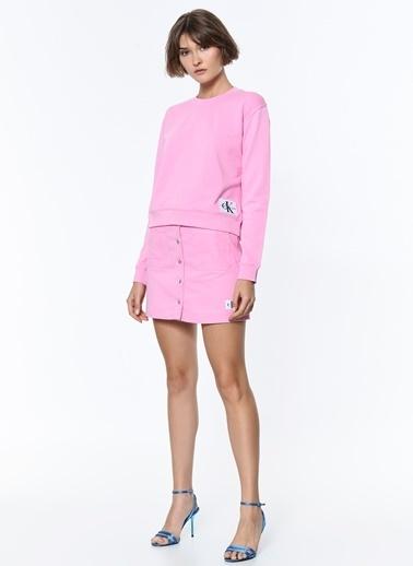 Calvin Klein Sweatshirt Pembe